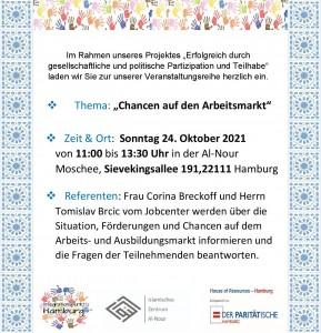 Flyer HoR Chancen Arbeitsmarkt